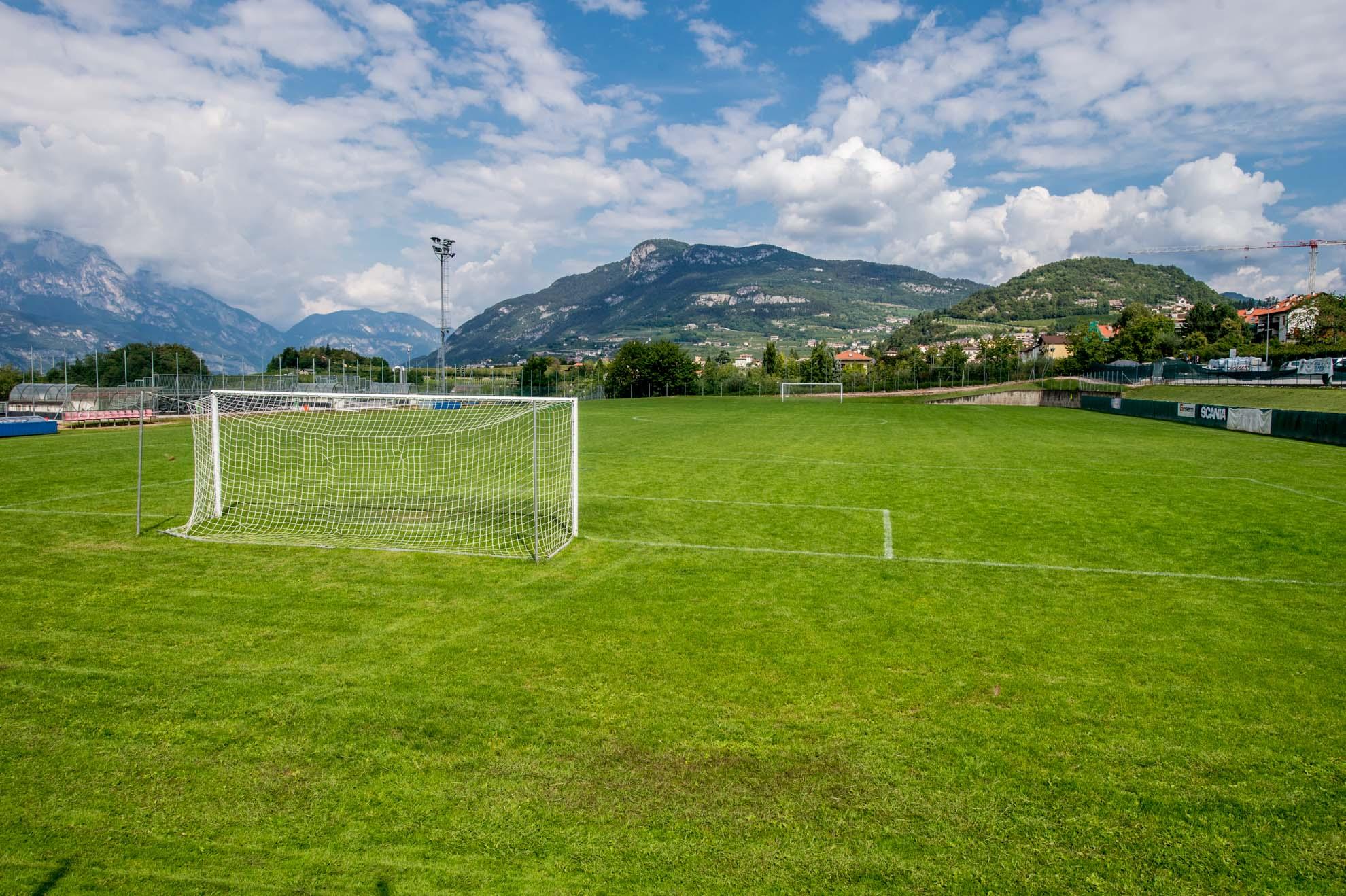 Centro sportivo gabbiolo trento info campi da calcio asis
